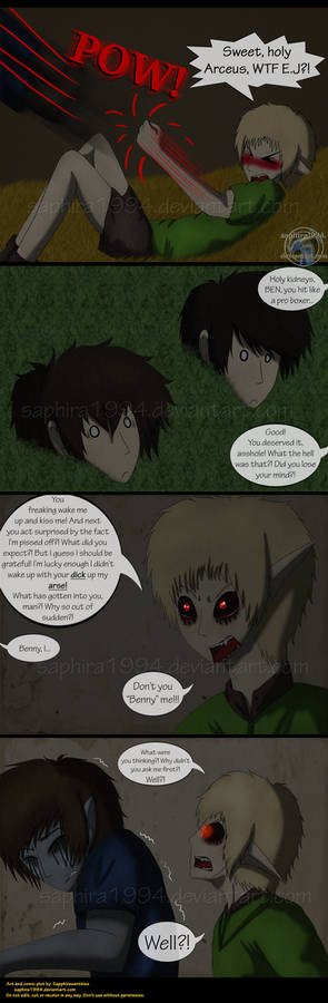 Adventures With Jeff The Killer - PAGE 123