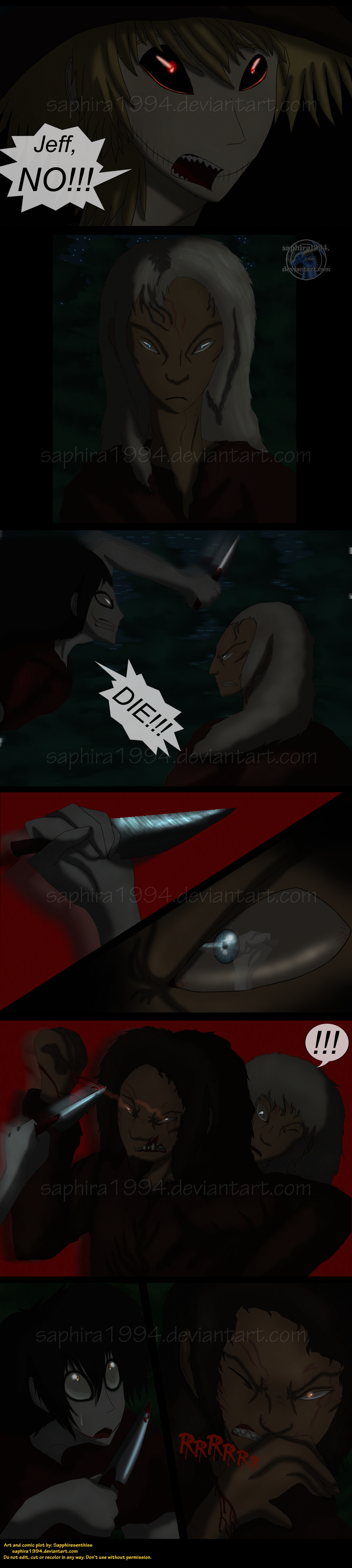 Adventures With Jeff The Killer - PAGE 140 by ...