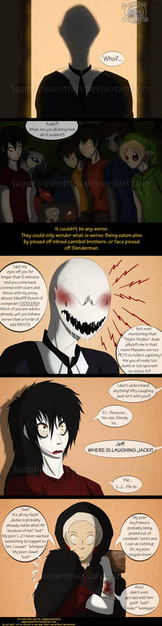 Adventures With Jeff The Killer - PAGE 156