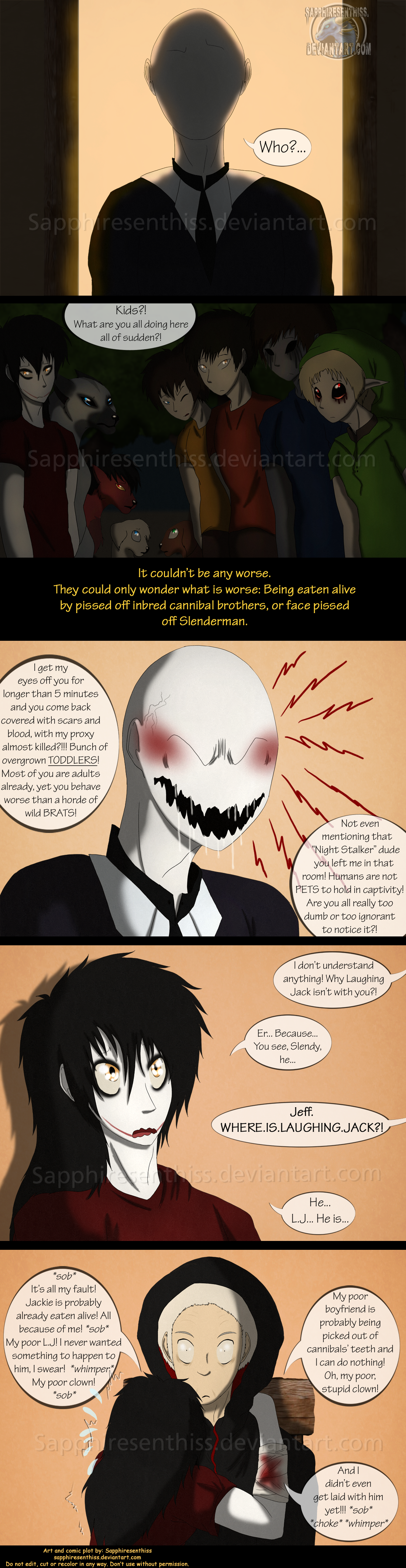 adventures with jeff the killer page 156 by