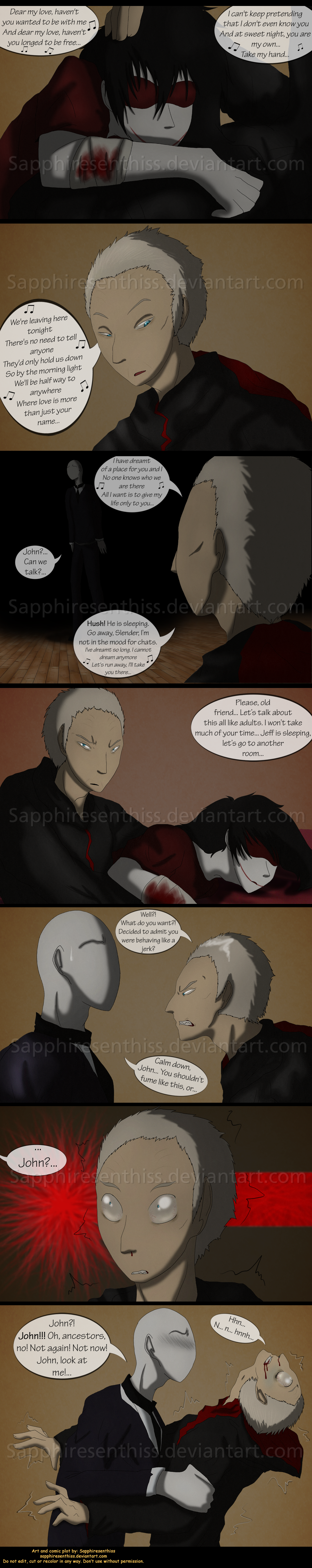 adventures with jeff the killer page 159 by