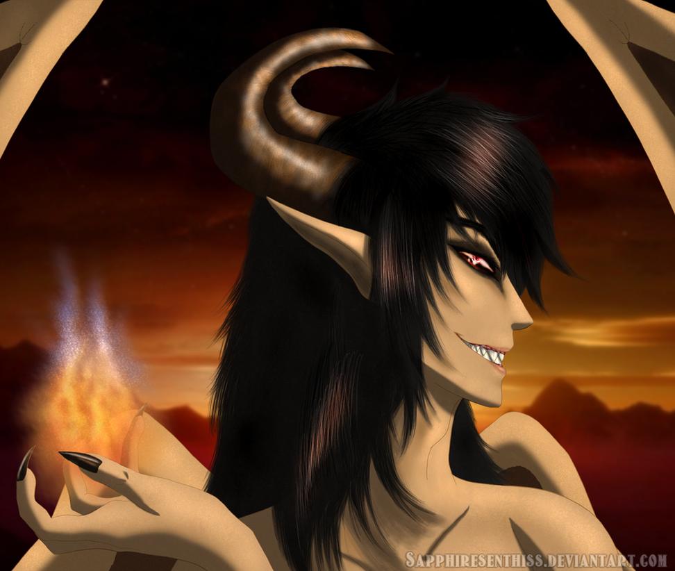 The Dark Prince by Sapphiresenthiss