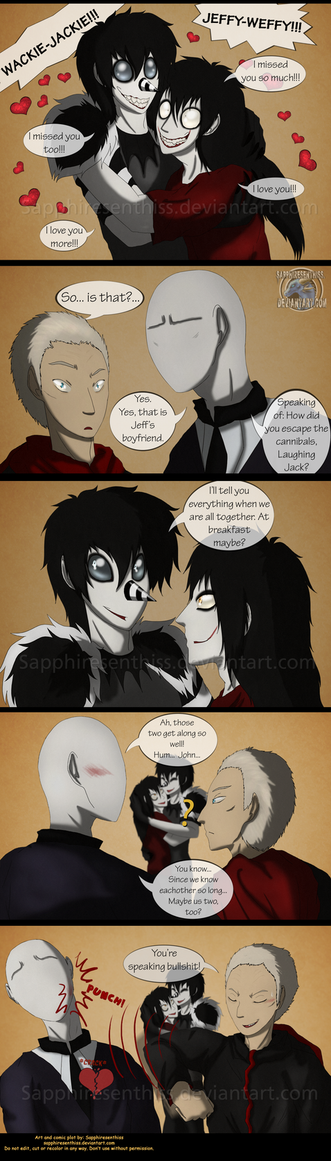 Adventures With Jeff The Killer - PAGE 162 by Sapphiresenthiss