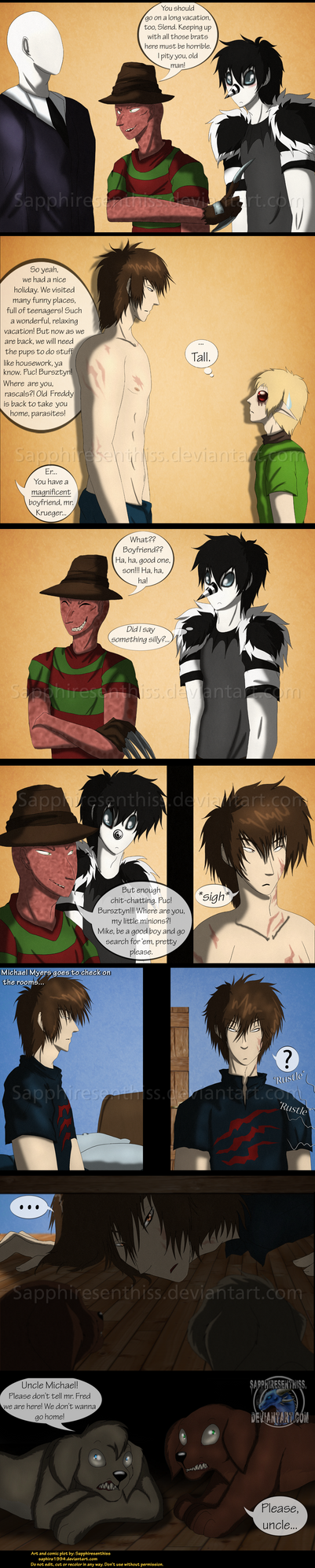 Adventures With Jeff The Killer - PAGE 165 by Sapphiresenthiss