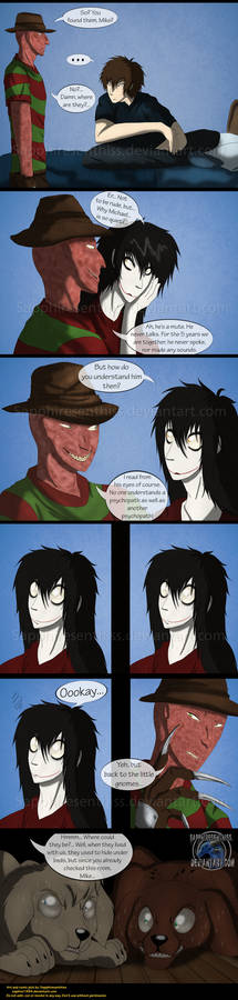 Adventures With Jeff The Killer - PAGE 166