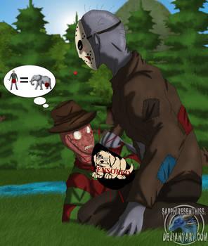 The VERY BIG Jason (Freddy x Jason SLASH Warning!)