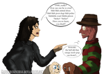 Freddy Krueger vs Michael Jackson - ANIMAL ABUSE!