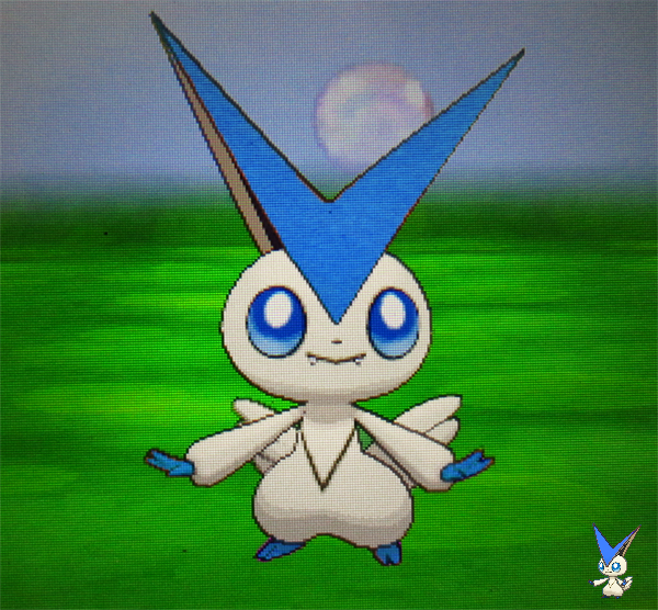 A Fan Made Shiny Victini By Sapphiresenthiss On Deviantart