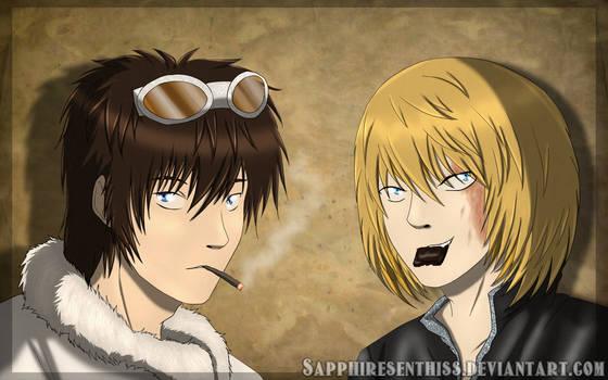 Death Note: Matt and Mello