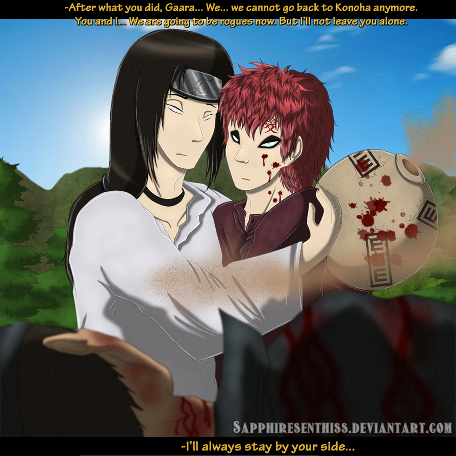 ''I'll Always Stay By Your Side...'' by Sapphiresenthiss ... Gaara And Neji