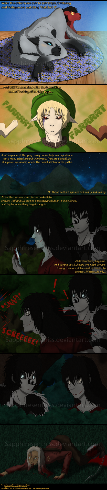 Adventures With Jeff The Killer - PAGE 195 by Sapphiresenthiss