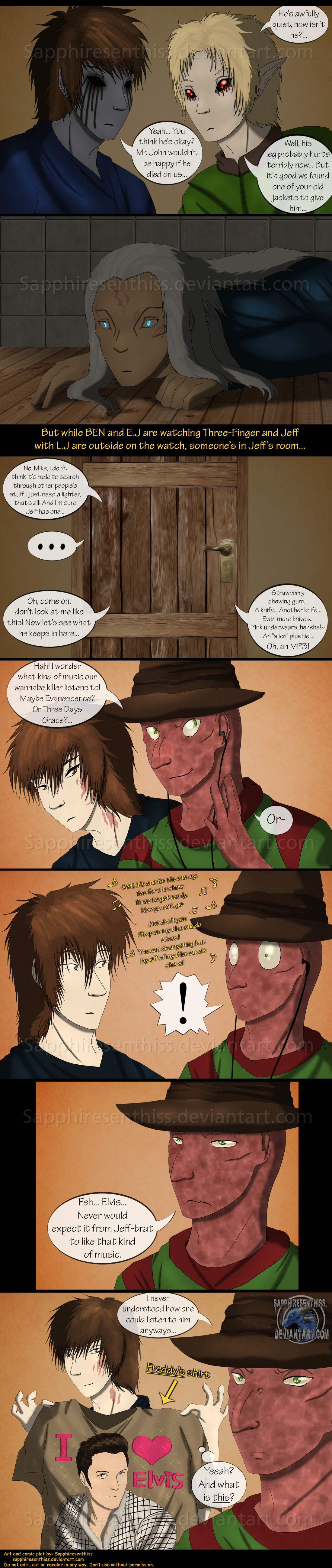 Adventures With Jeff The Killer - PAGE 199 by ...