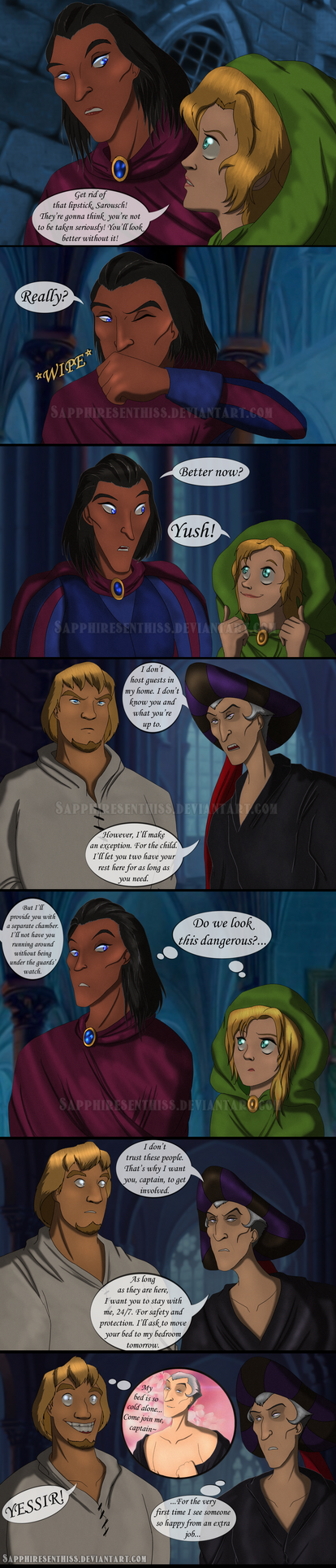 Never Judge A Gypsy By His Skin - PAGE 16 by Sapphiresenthiss