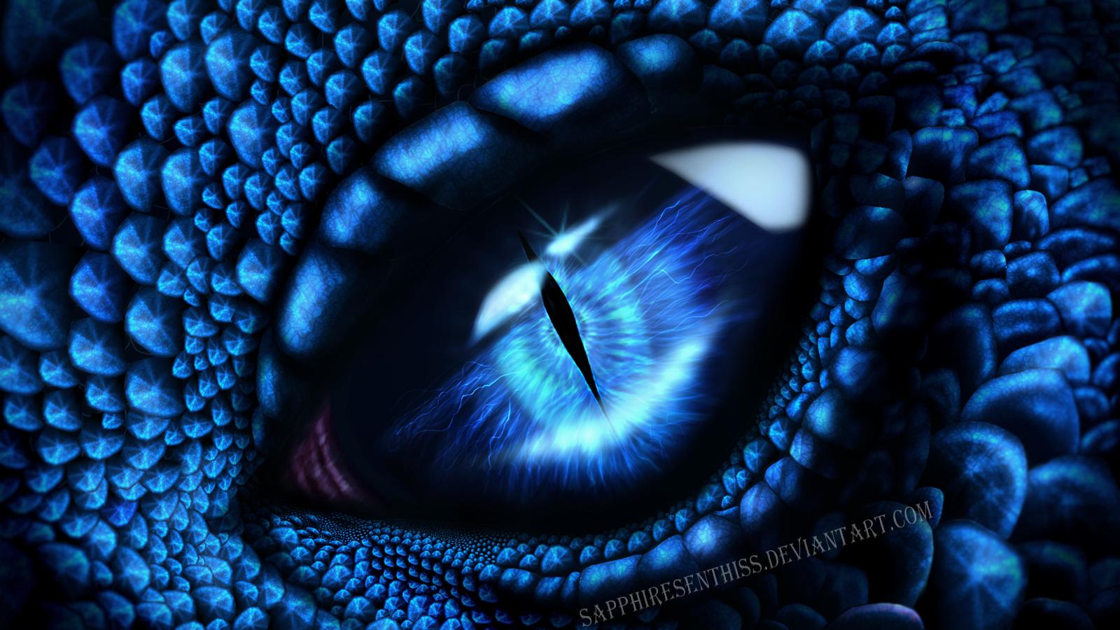 Sapphiresenthiss eye by sapphiresenthiss on deviantart - Sapphire wallpaper ...