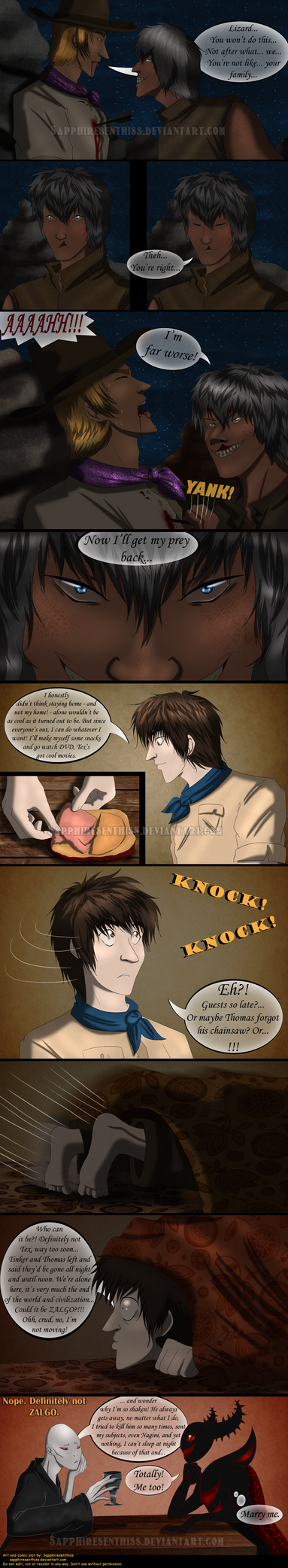 Adventures With Jeff The Killer - PAGE 232 by Sapphiresenthiss