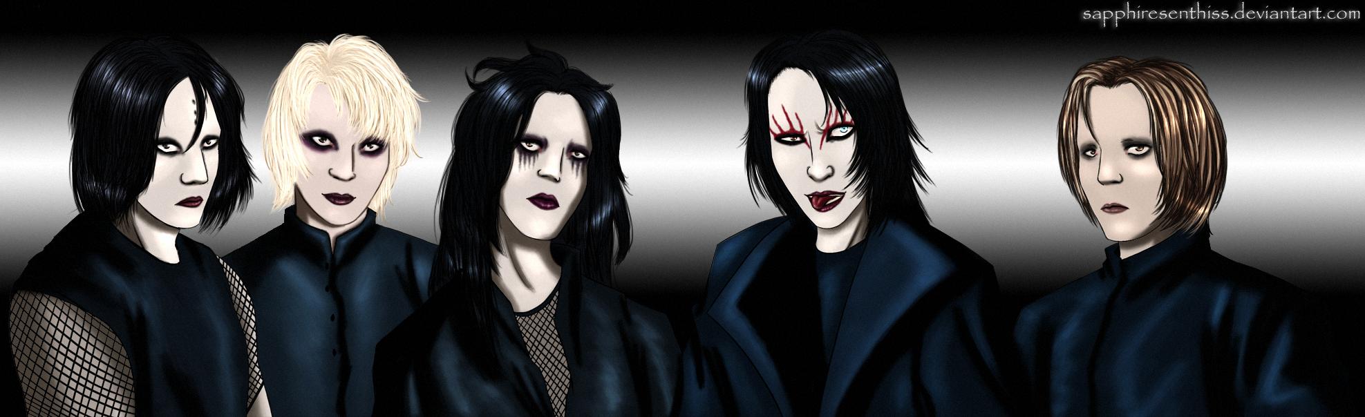 Marilyn Manson S Powder Paint Concert