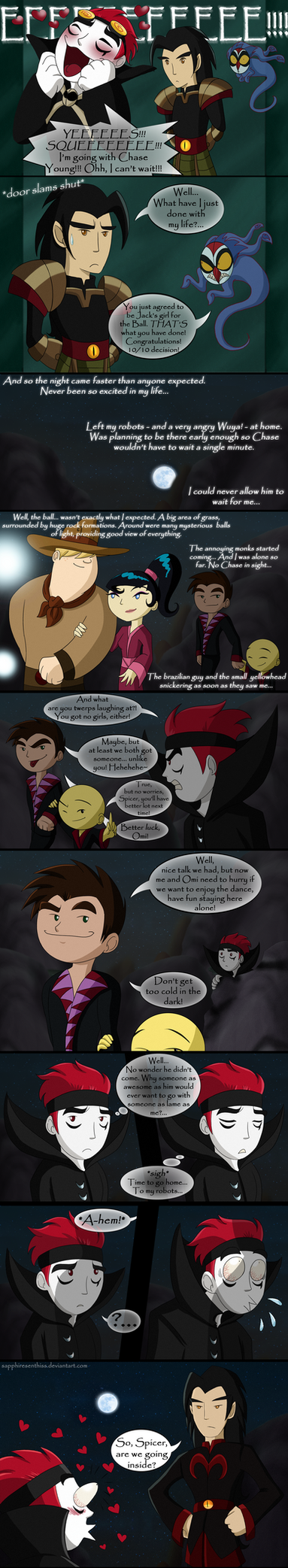 The Ball of The Moon - PAGE 5 (CHACK Comic) by Sapphiresenthiss