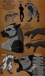 Mahigun the Werewolf - Character Sheet by Sapphiresenthiss
