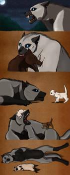 Mahigun the Werewolf SKETCHDUMP by Sapphiresenthiss