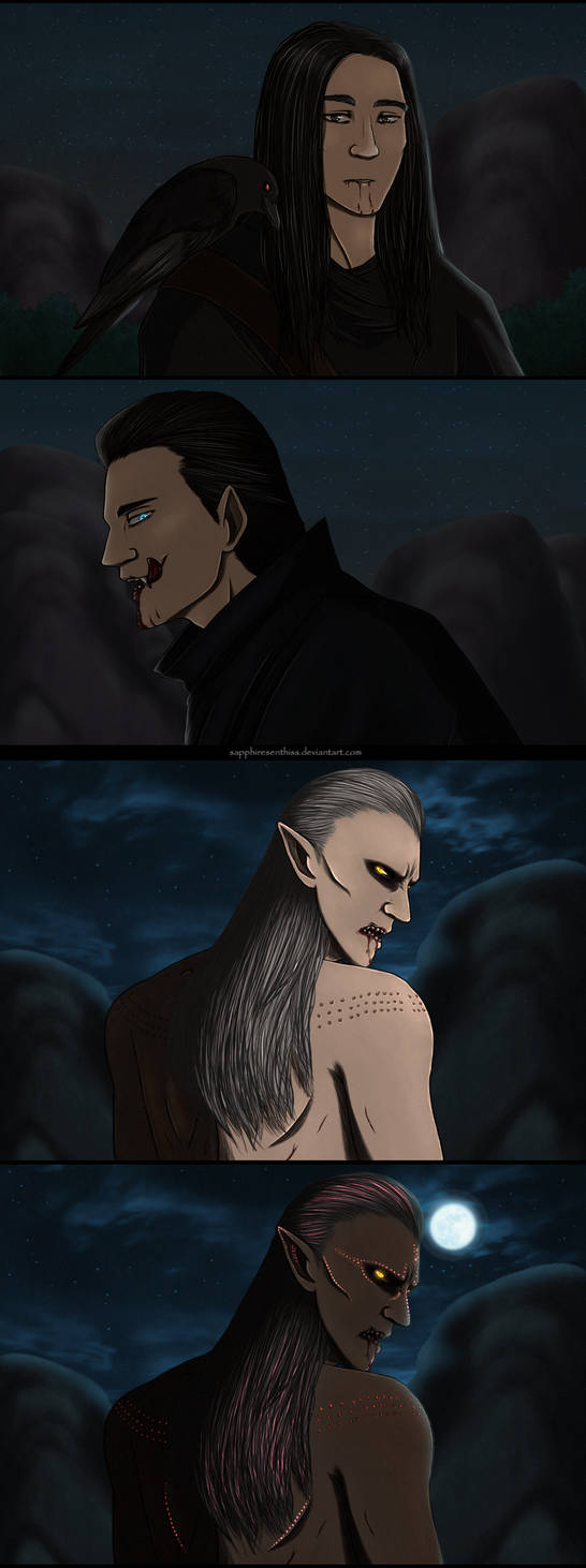 The Witcher Vampires (sketchdump)