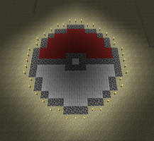 Minecraft Pokeball by Pwnisim