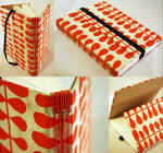 Orange Trifold Journal by sweet-travesty