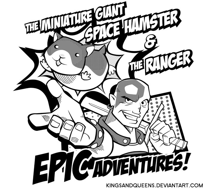 Minsc and Boo - EPIC ADVENTURES! by KingsandQueens