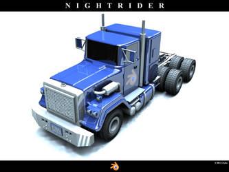 Nightrider - cab by KorX989