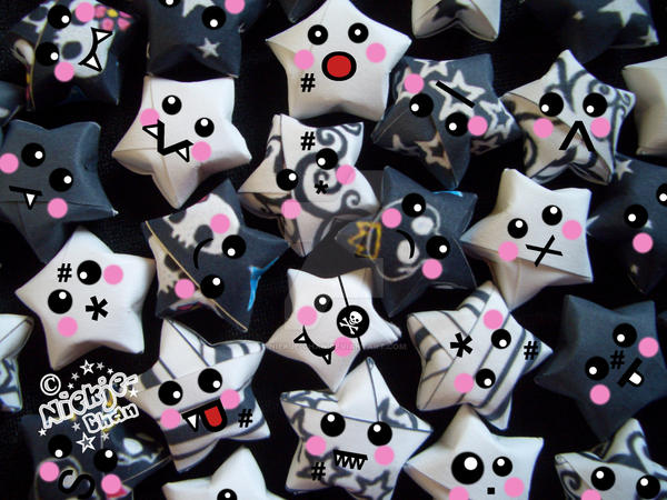 .:Scary Lucky Stars:. by niekje-chan