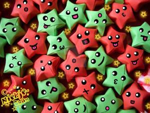 .:Lucky Christmas Stars:.