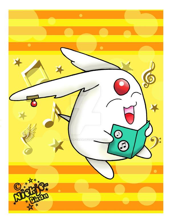 .:Mokona Singing:. by niekje-chan