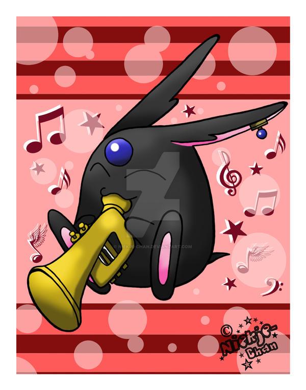 .:Mokona's Trumpet:. by niekje-chan