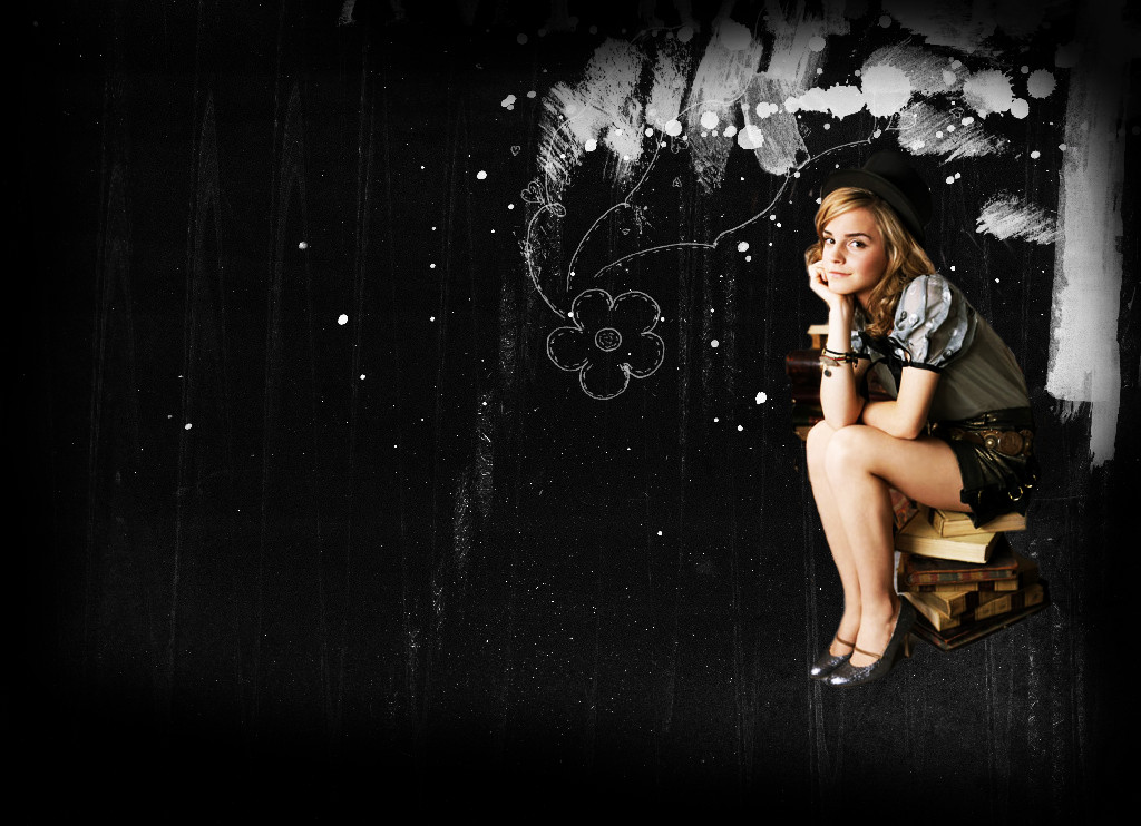 Emma Watson Wallpaper by Flepsicaa