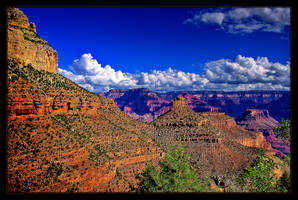 View of the Grand Canyon II by ernieleo
