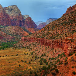 Zion Canyon from Watchman
