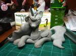 Princess Luna WiP (Finished Sculpt)