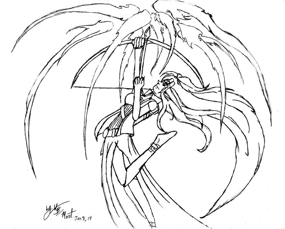 Magic Arrow by MorticiaEnslavement