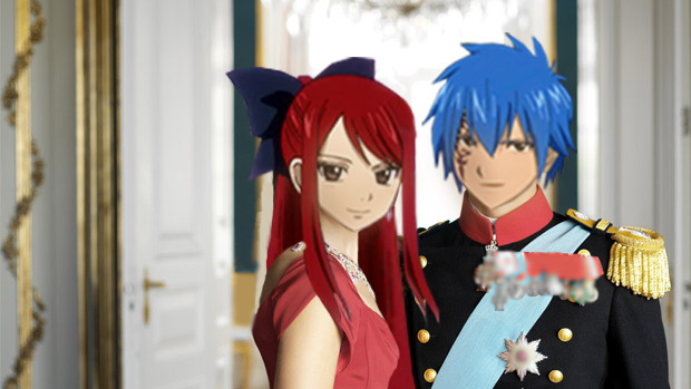 King Gerard (Jellal), Queen Erza of FIORE by apalche85 on ...