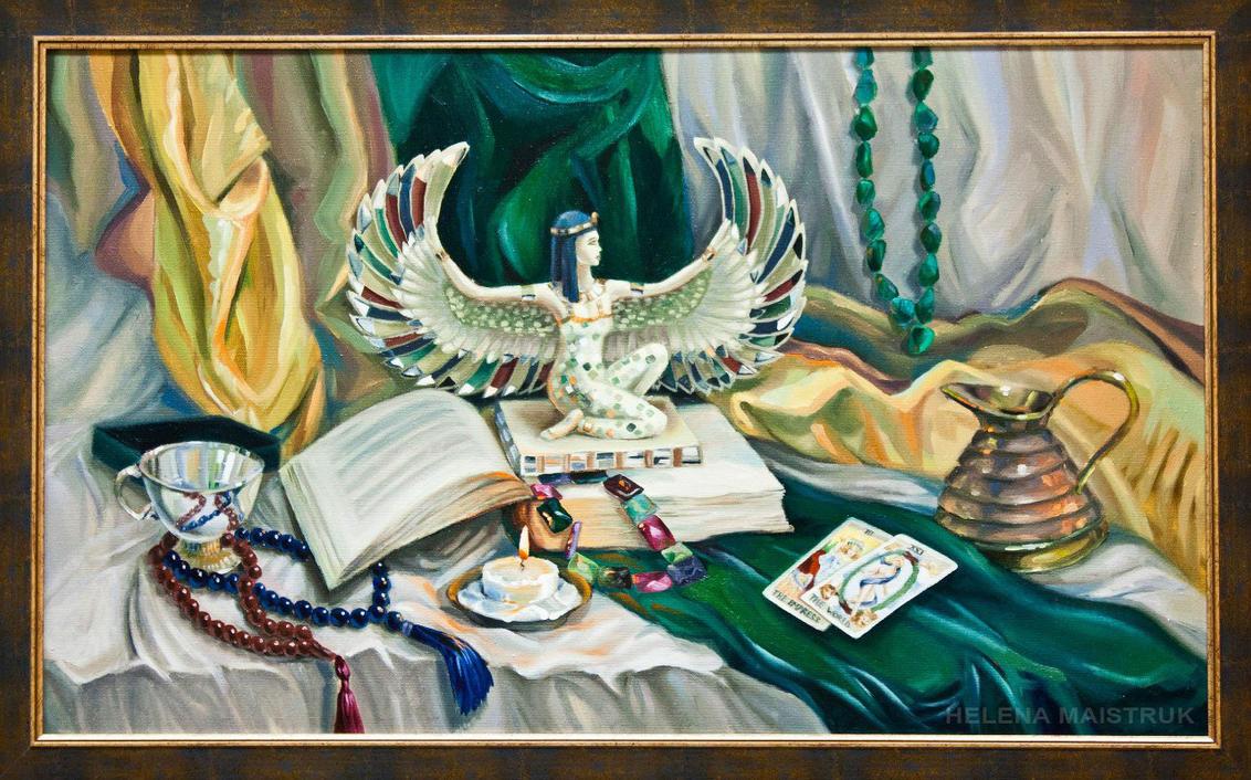 Still Life With Tarot Cards By HelenaMaistruk On DeviantArt