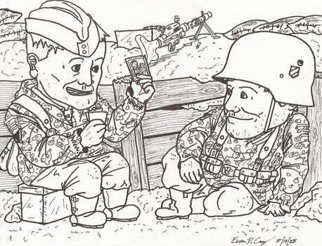 WWII cartoons by warman707 on DeviantArt
