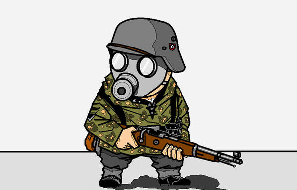 Image result for Nazi snipers CARTOON
