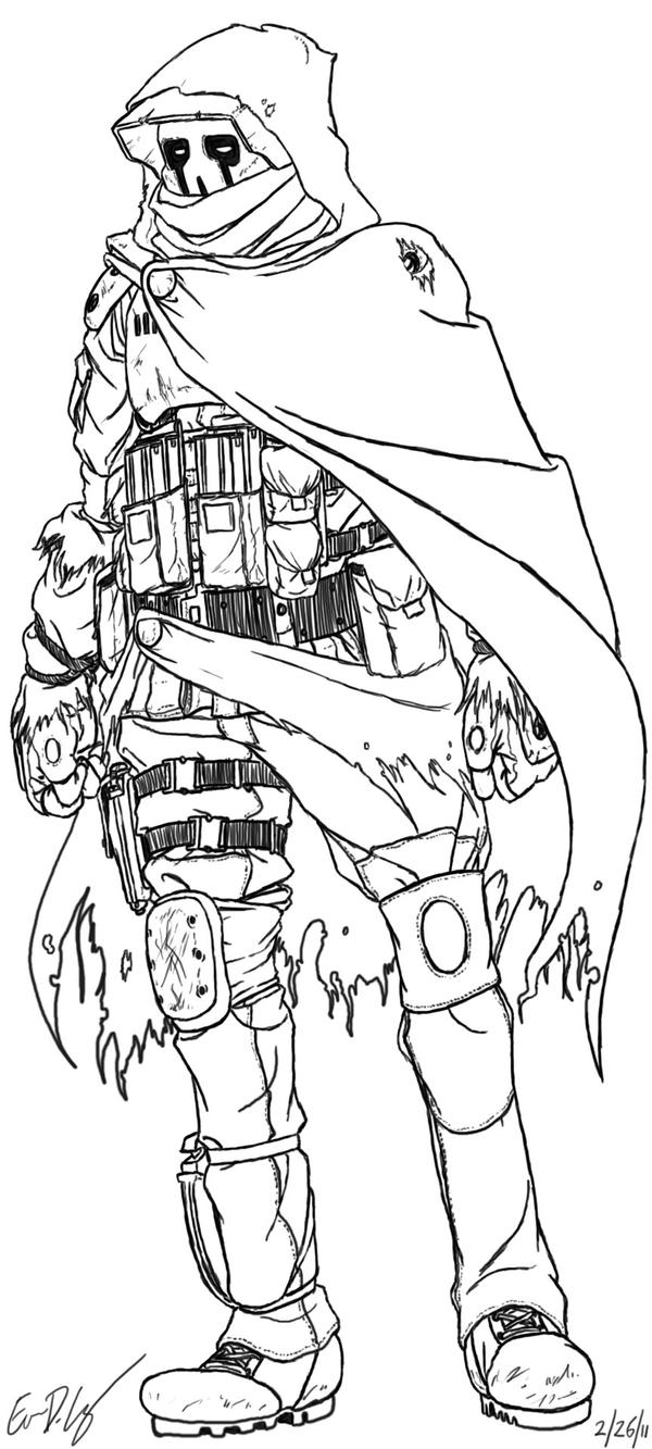 sniper coloring pages - photo#35