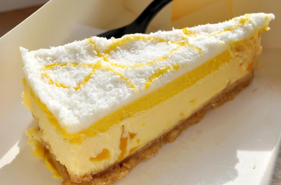 Mango Passion Coco Cheesecake by Patachou7