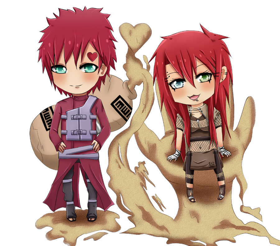 Gaara X Kira By Monochromacy On DeviantArt