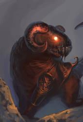 Devil's Goat speedpaint