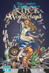 Alice in Wonderland 2 Cover