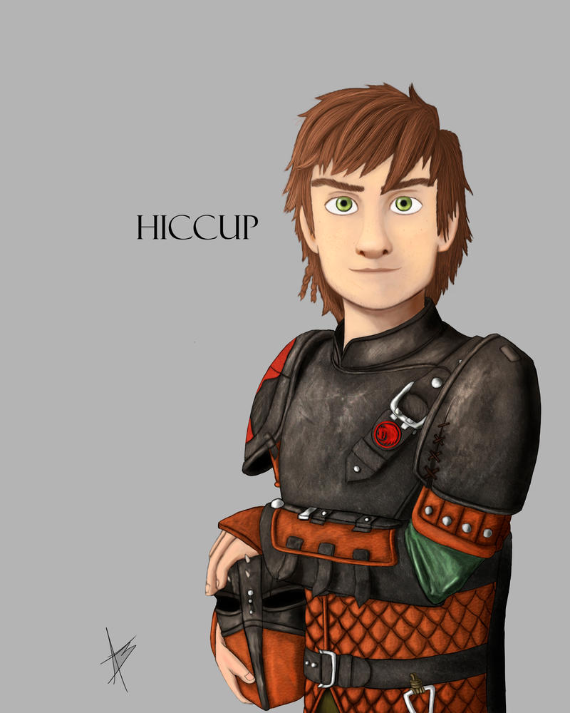 Hiccup by YAMATA12