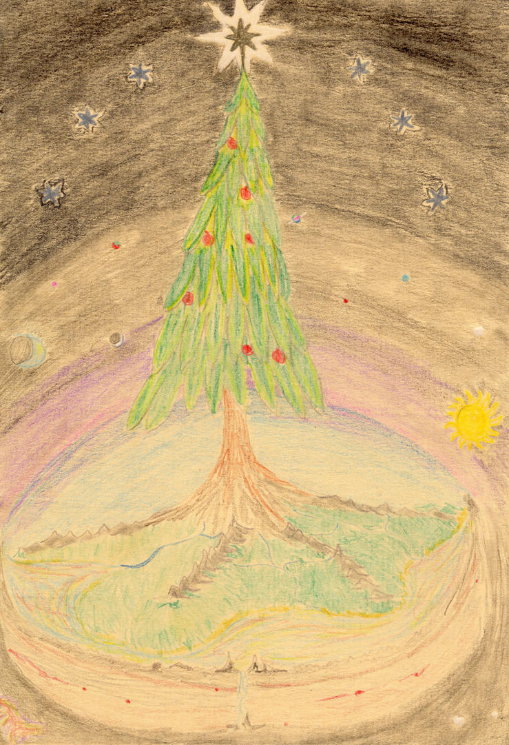 Christmas Cosmology by elemtilas