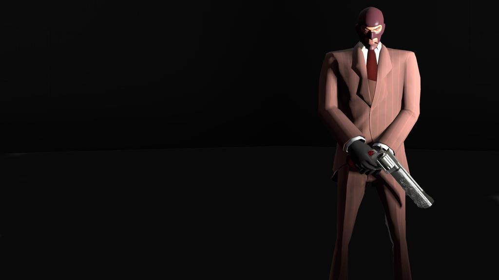 Team Fortress 2 Spy Wallpaper By Darkath900