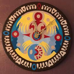 Majora's Mask Clock by ryamcshme